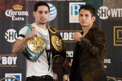 Danny Garcia and Mauricio Hernandez