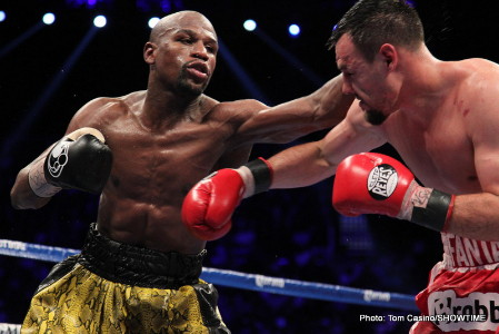 robert guerrero floyd mayweather jr boxing  photo