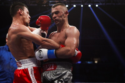 selcuk aydin robert guerrero floyd mayweather jr  photo