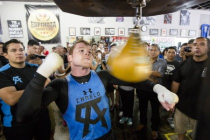 Canelo Open Workout