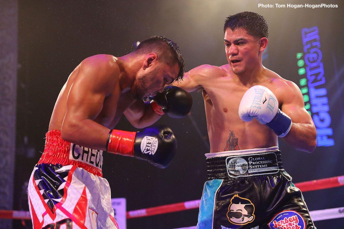 - Latest Diaz vs. Cuadro Golden Boy Promotions Jesus Cuadro Joseph Diaz