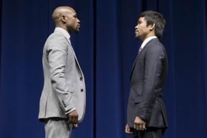 Floyd Mayweather Jr Manny Pacquiao Mayweather vs. Pacquiao Mayweather-Pacquiao Robert Garcia
