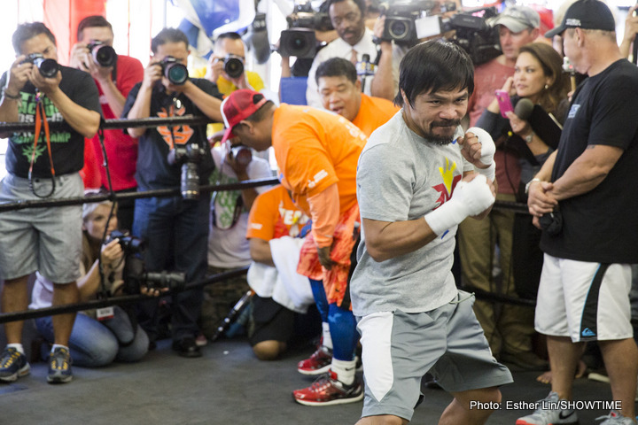 Amir Khan Manny Pacquiao Terence Crawford Timothy Bradley