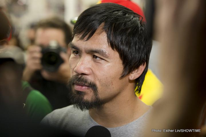 Freddie Roach Lucas Matthysse Manny Pacquiao Pacquiao vs. Matthysse