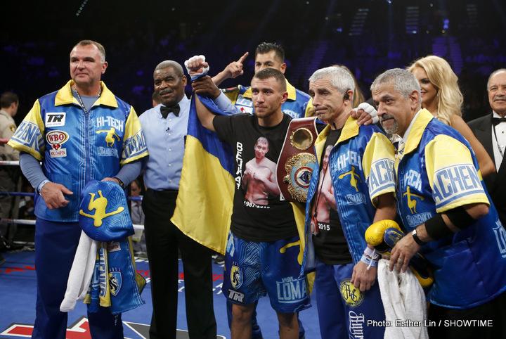 Roman Martinez Vasiliy Lomachenko