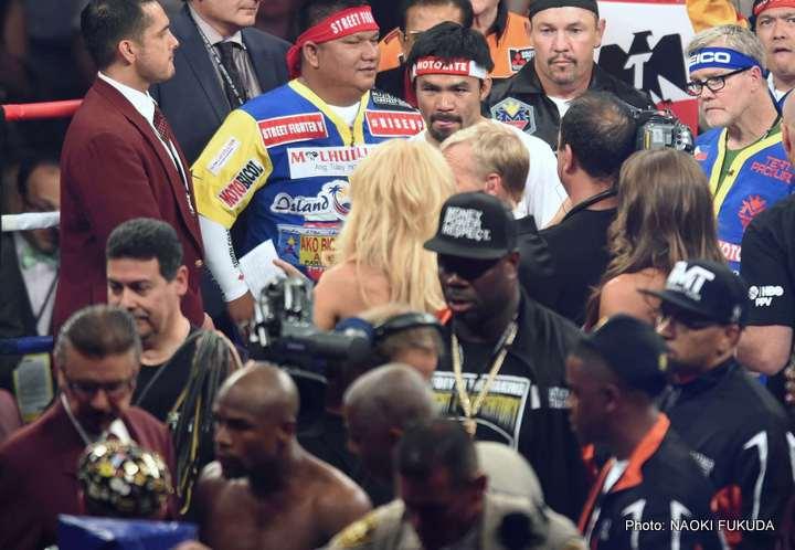 Floyd Mayweather Jr Manny Pacquiao Mayweather vs. Pacquiao Mayweather-Pacquiao