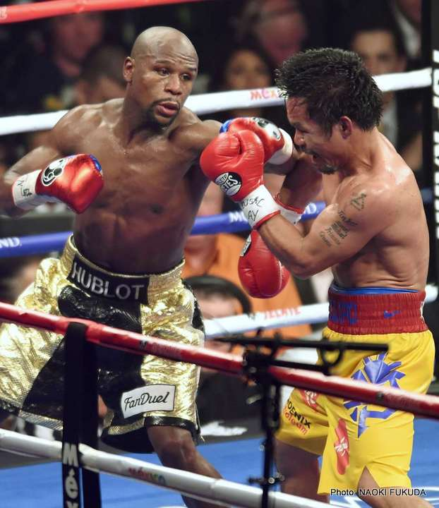 mayweather pacquiao news