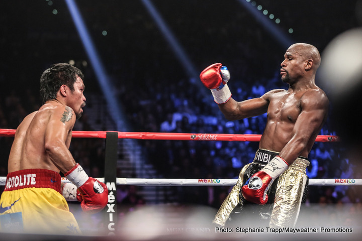 Floyd Mayweather Jr James DeGale Manny Pacquiao