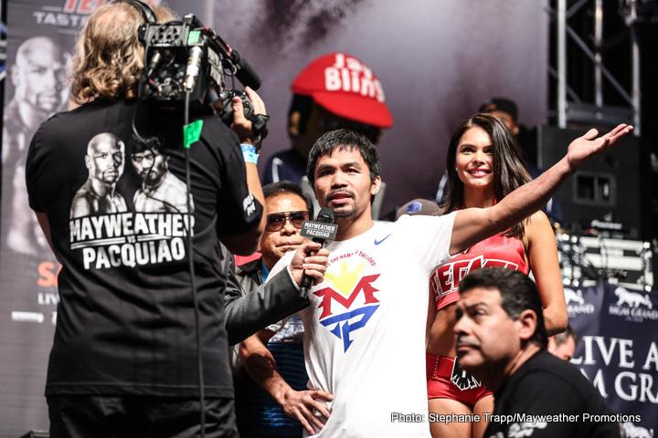 - Latest Manny Pacquiao