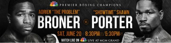 Adrien Broner Shawn Porter Broner vs. Porter Broner-Porter