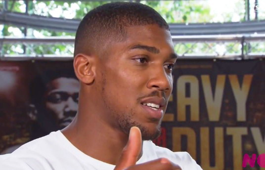 Anthony Joshua David Haye