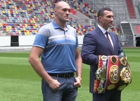 Tyson Fury Wladimir Klitschko Klitschko vs. Fury Klitschko-Fury