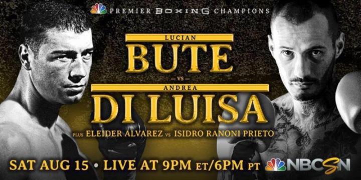 Lucian Bute Andrea Di Luisa Bute vs. Di Luisa Bute-Di Luisa