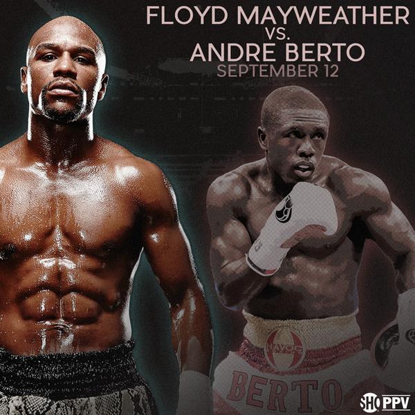 Andre Berto Floyd Mayweather Jr Mayweather vs. Berto Mayweather-Berto