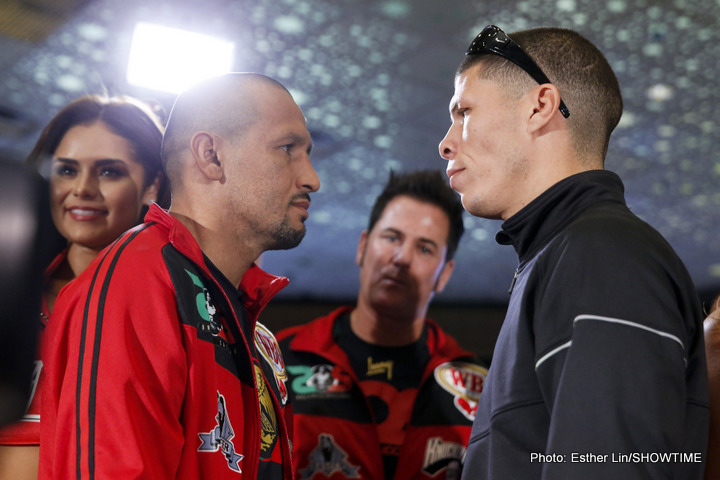 Orlando Salido and Roman Martinez