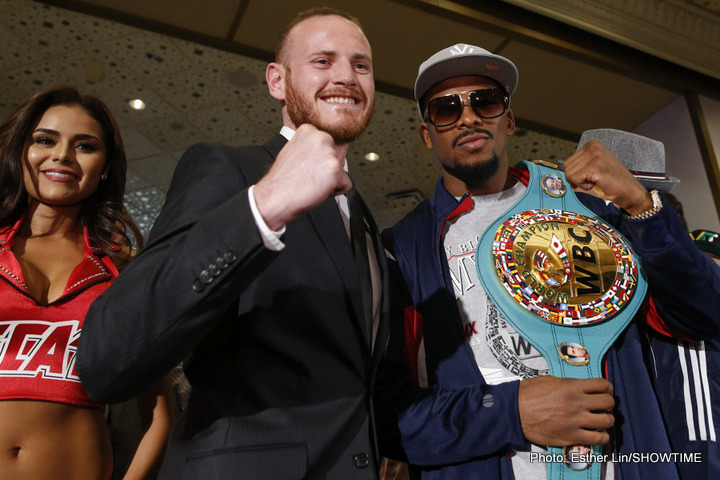 George Groves and Badou Jack
