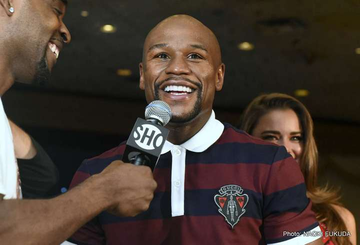 Andre Berto Floyd Mayweather Jr Manny Pacquiao