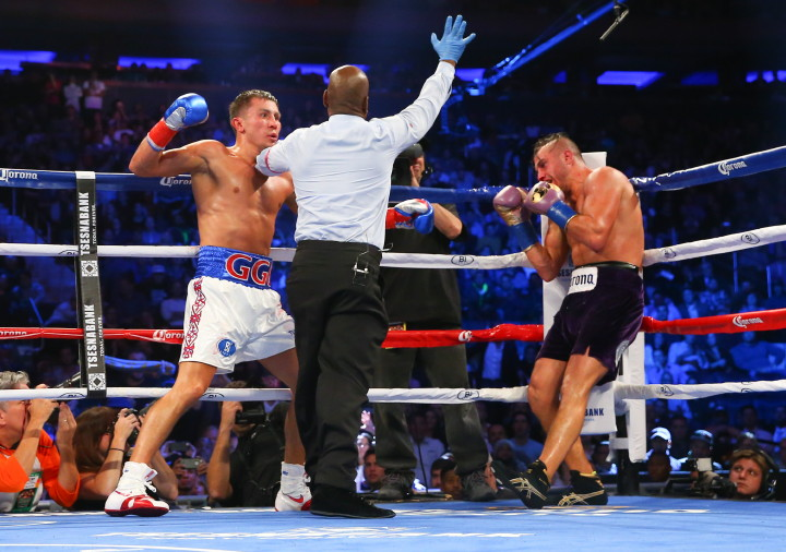 Andy Lee Billy Joe Saunders Gennady Golovkin