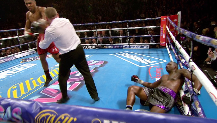 Anthony Joshua Dillian Whyte Eddie Hearn Joshua vs. Whyte 2 Matchroom Boxing