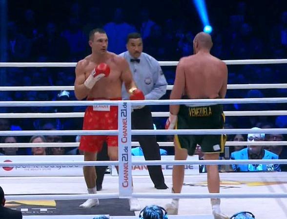 Carl Froch Tyson Fury Wladimir Klitschko