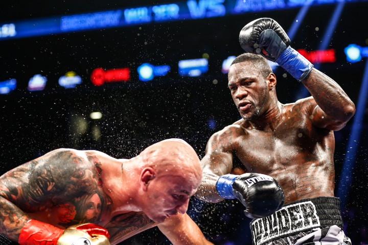 Wilder badly exposed by szpilka boxing news wilder szpilka fight night 01162016 1128 malvernweather Gallery