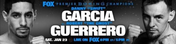 Danny Garcia Robert Guerrero