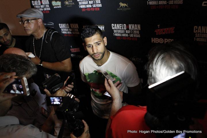 Amir Khan Canelo Alvarez