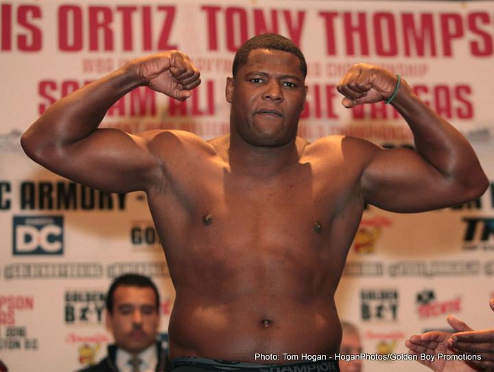 Tony Thompson Ortiz vs. Thompson Ortiz-Thompson