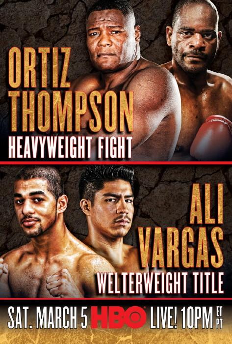 Tony Thompson Luis Ortiz Ortiz vs. Thompson Ortiz-Thompson
