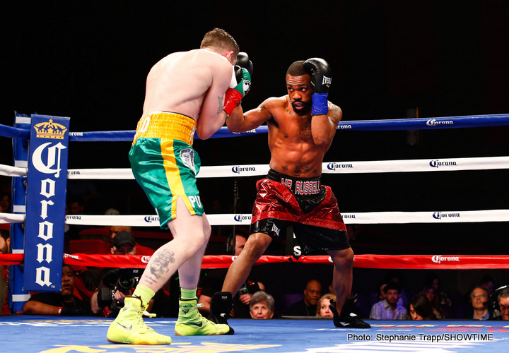 Gary Russell Jr. Manny Pacquiao