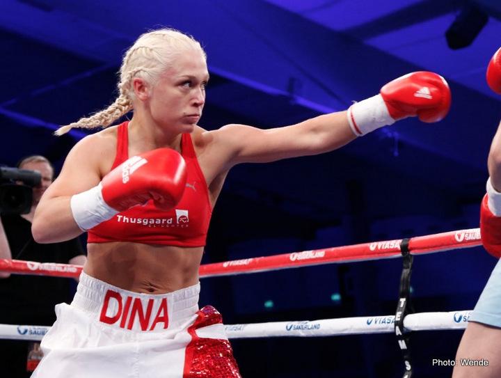 Thorslund faces Ivanova on May 28 in Kjellerup » Boxing News