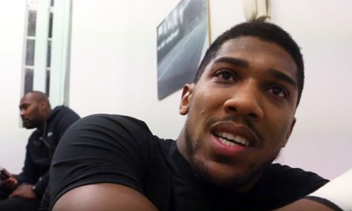 - Latest Anthony Joshua