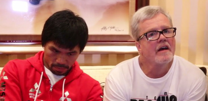 Freddie Roach Lucas Matthysse Manny Pacquiao Pacquiao vs. Matthysse