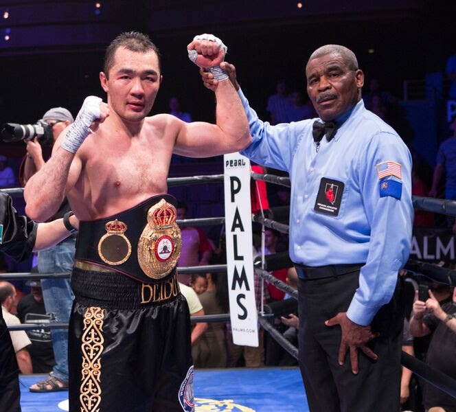 Beibut Shumenov To Defend Title Vs. Junior Wright This