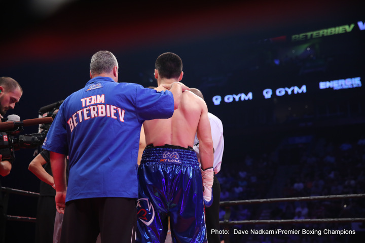 Artur Beterbiev Beterbiev vs. Johnson Callum Johnson