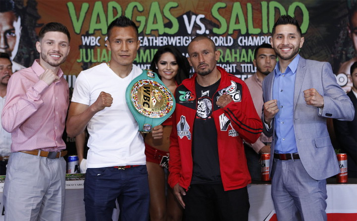 - Latest Orlando Salido Francisco Vargas Vargas vs. Salido Vargas-Salido