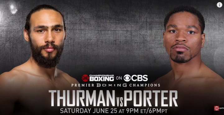 Keith Thurman Shawn Porter Thurman vs. Porter Thurman-Porter
