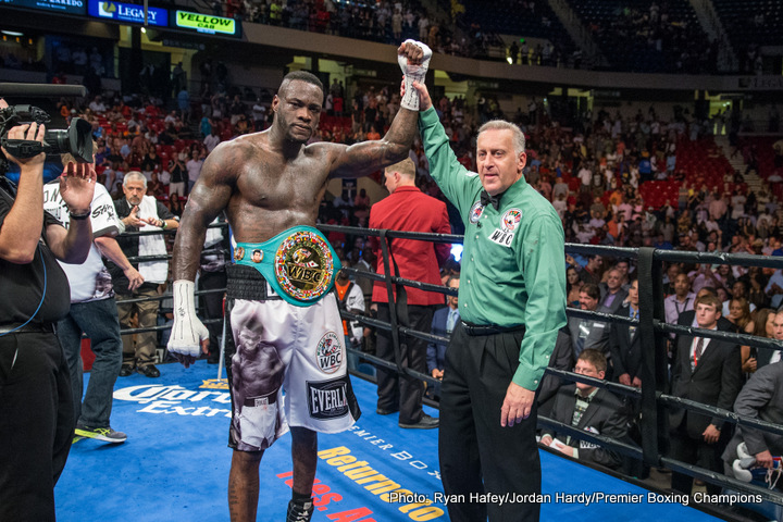 Chris Arreola Deontay Wilder