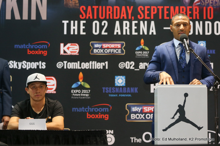 Kell Brook: Boxer weighs more than Gennady Golovkin on 30-day check