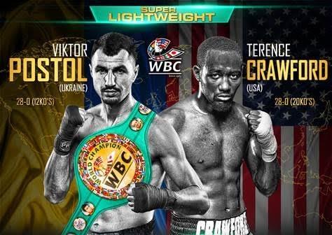 Manny Pacquiao Terence Crawford Crawford vs. Postol Crawford-Postol Viktor Postol