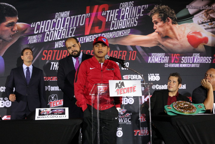 - Latest Roman Gonzalez