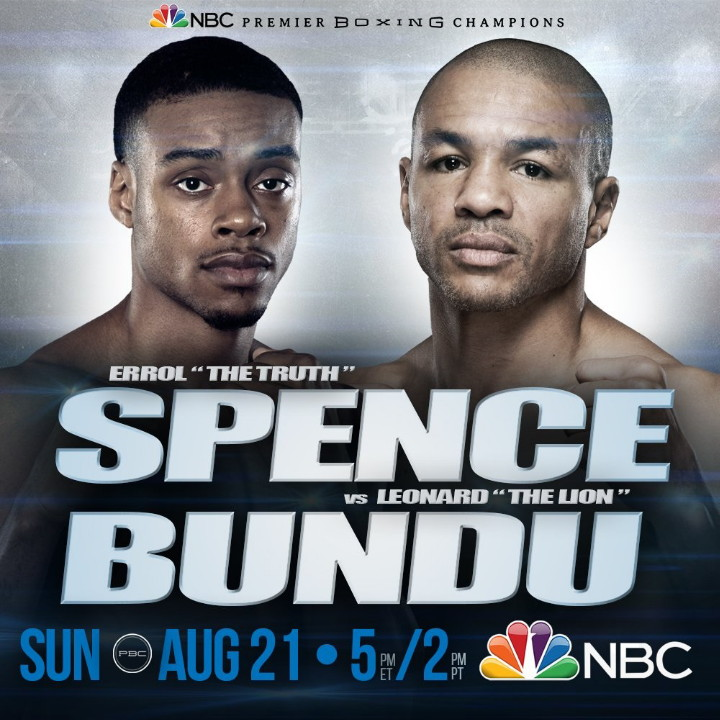 Errol Spence Jr Spence vs. Bundu Spence-Bundu