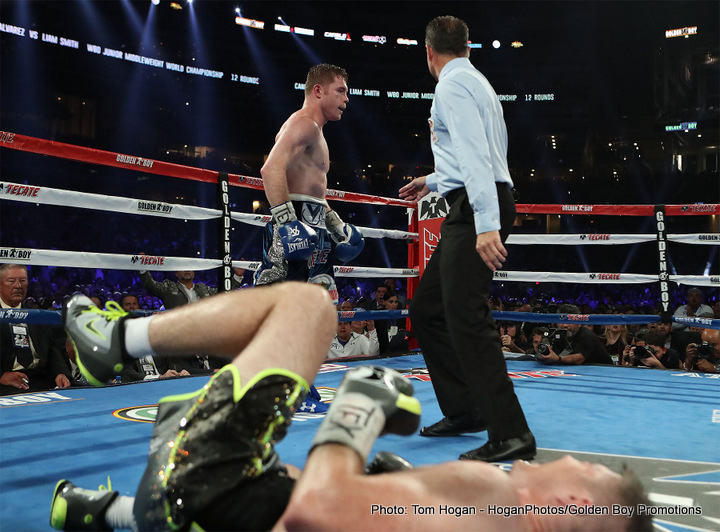 Canelo Alvarez Canelo vs. Smith Liam Smith