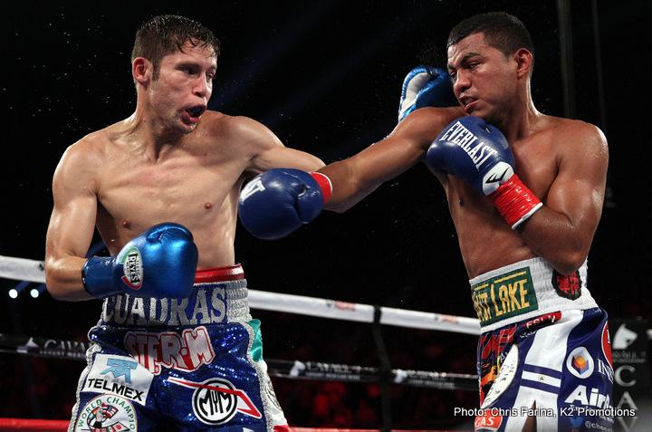 Latest Carlos Cuadras Cuadras vs. Estrada Juan Francisco Estrada Naoya Inoue