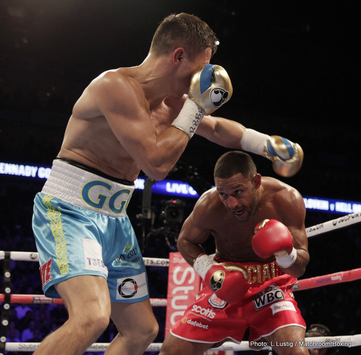 Brook: I hurt Golovkin, his legs buckled » Boxing News Boxing News