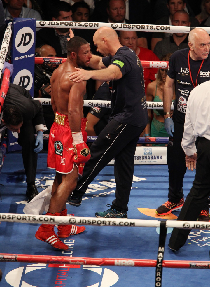 Errol Spence Jr Kell Brook