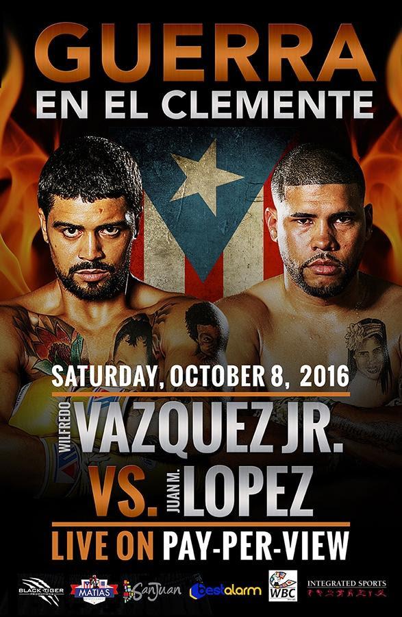 - Latest Juan Manuel Lopez Wilfredo Vazquez Jr
