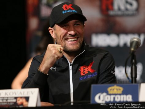 - Latest Andre Ward Sergey Kovalev