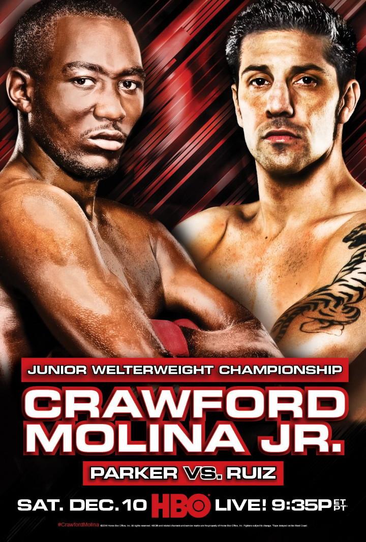 - Latest John Molina Joseph Parker Terence Crawford