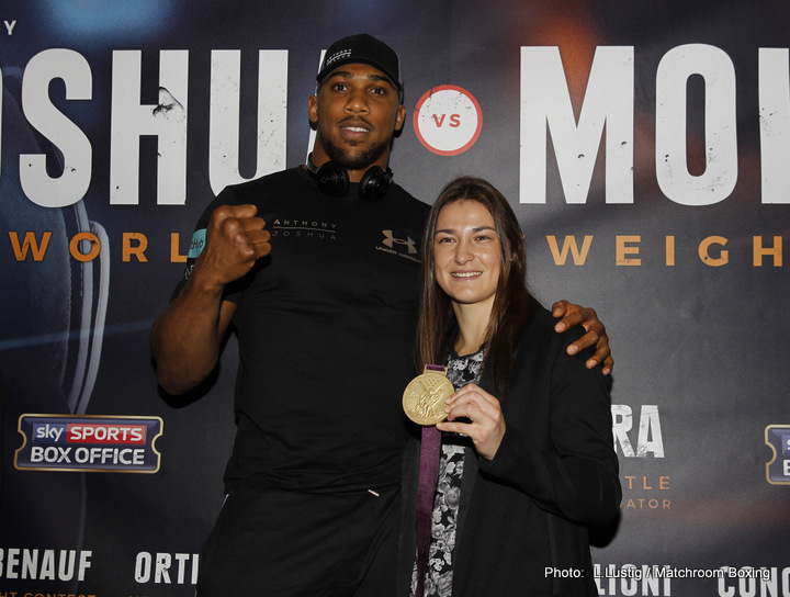 - Latest Anthony Joshua Eric Molina Joshua vs. Molina